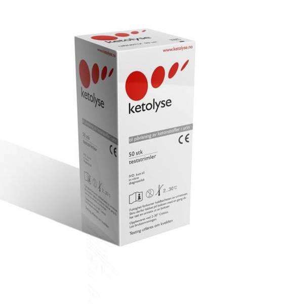 Ketolysestix : 50 stk